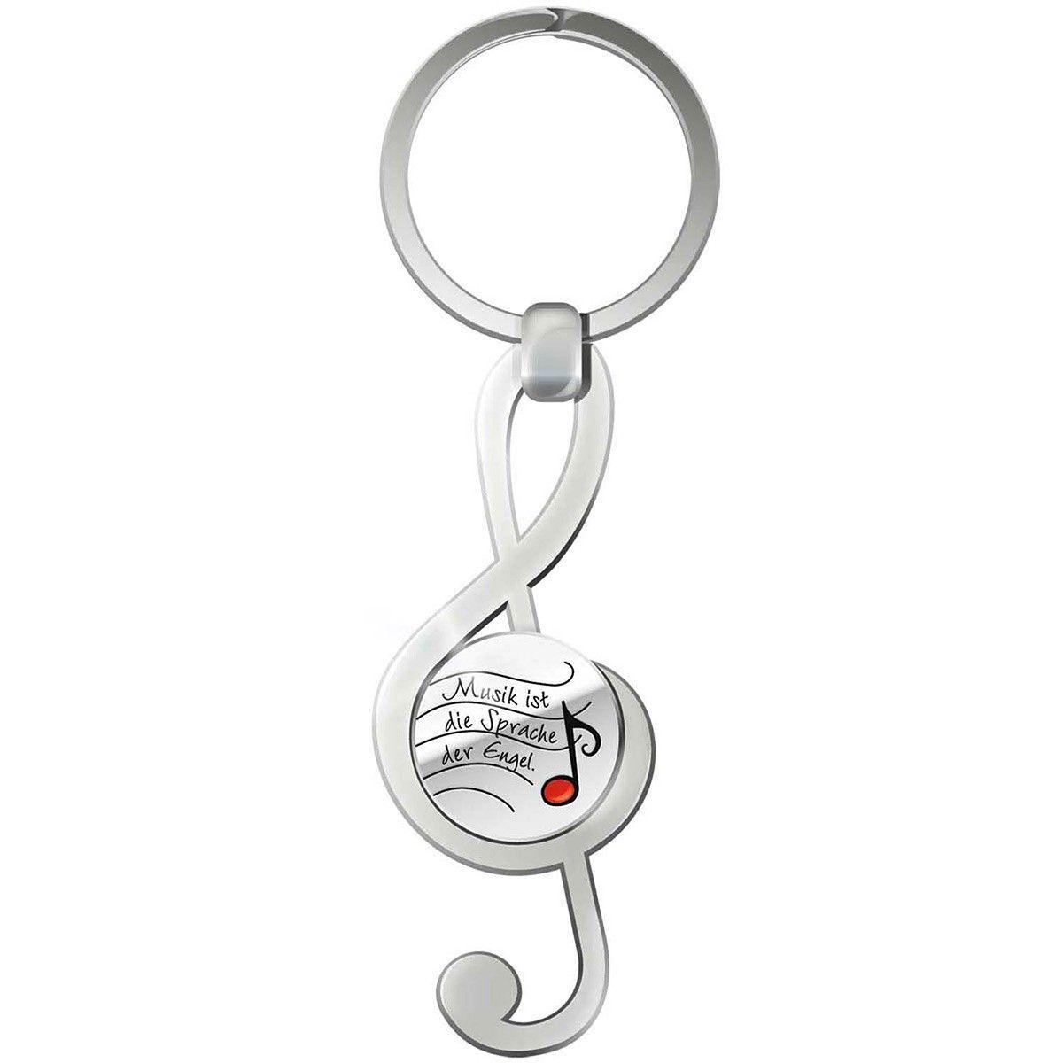 Schlüsselanhänger mit #Einkaufswagenchip in Form einer #Note