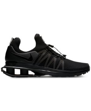 promo code 27427 4dc12 Nike Men s Shox Gravity Casual Sneakers from Finish Line - Black 11.5