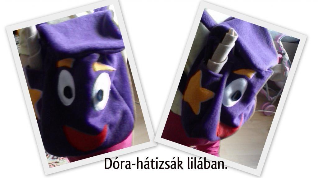 Dóra-hátizsák (Dora's bag)