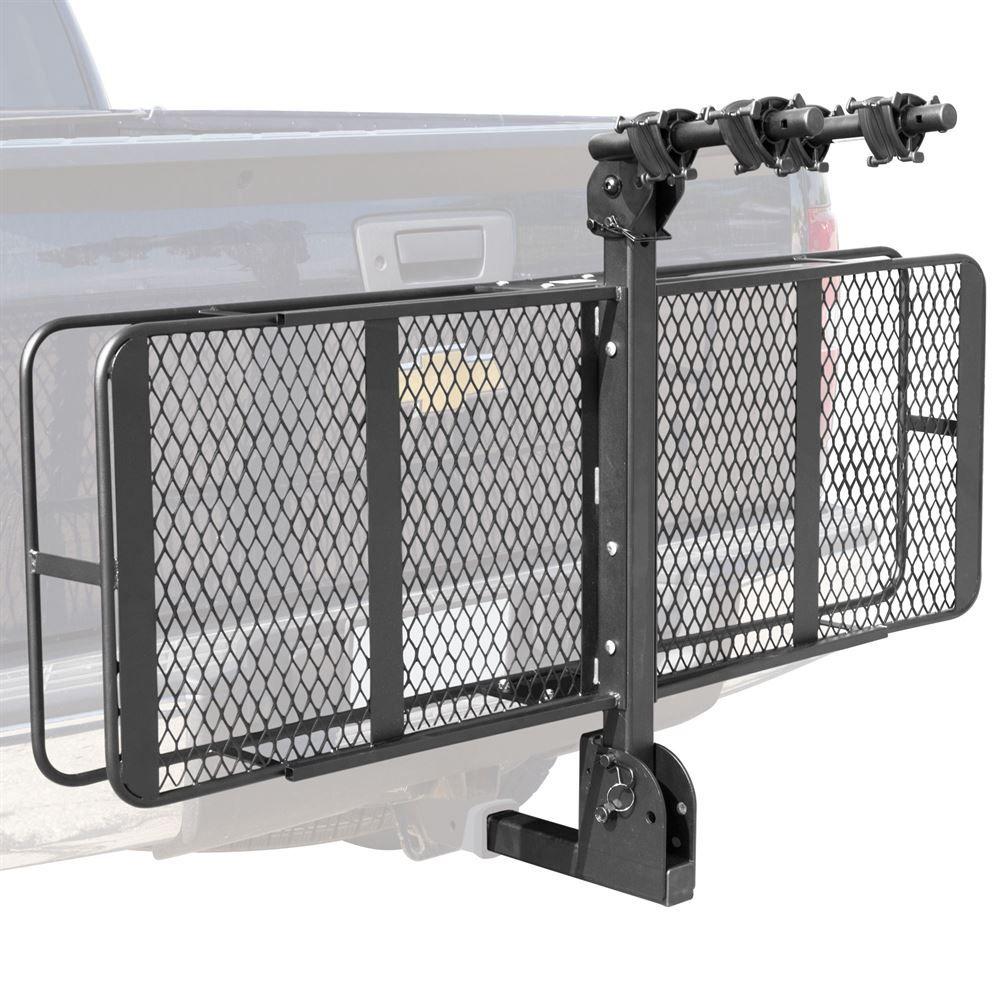 Hitch Cargo Carrier Bike Rack Combo Bccb 2 Discountramps Com Cargo Carrier Hitch Cargo Carrier Hitch Cargo