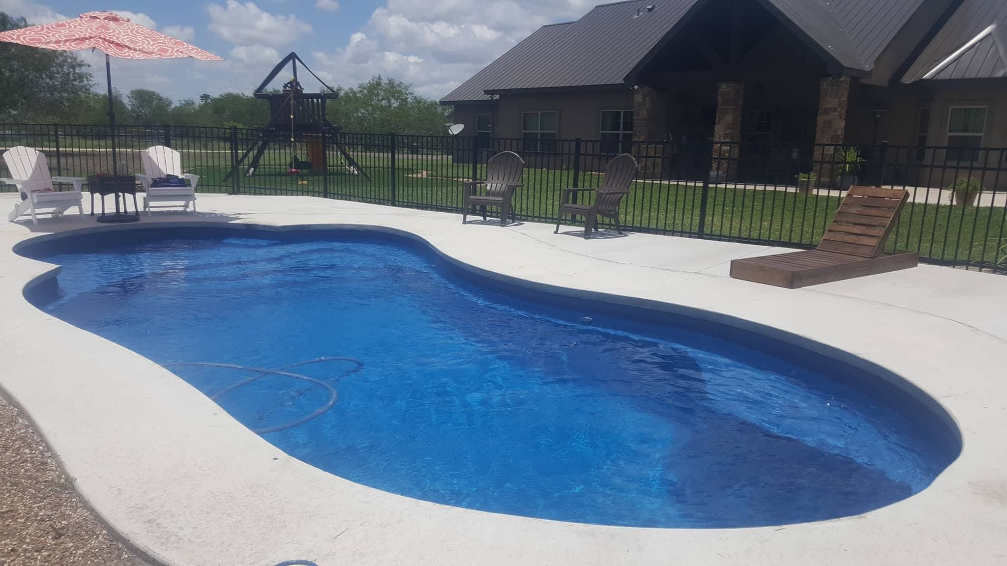 Thanks To The Atkinson Family In South Texas For Sharing A Photo Of Their New Leisure Pools