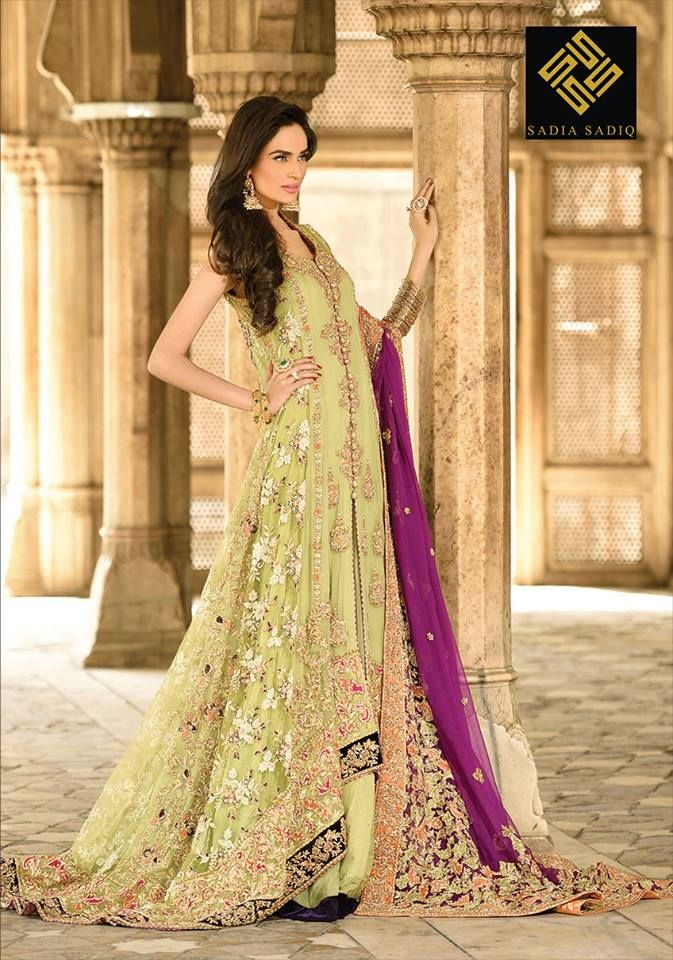 61ca4bd7b Latest Party Wear Long frocks for Ladies Collection 2019