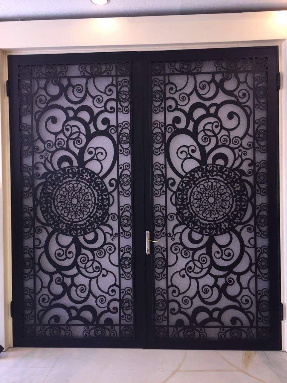 Pin By Yousuf On ابواب خارجية Iron Door Design Steel Door Design Door Gate Design