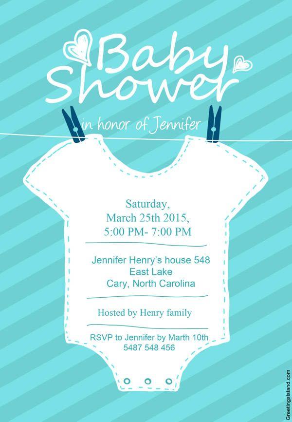7 Invitaciones De Baby Shower Para Imprimir Gratis