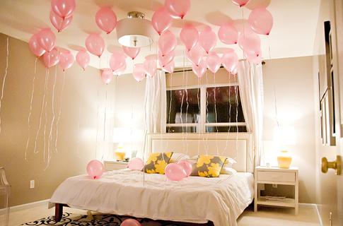 Ballon Room Hochzeitsnacht, Hochzeitsdekoration