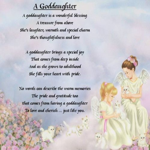 Inspirational Birthday Quotes For Goddaughter: Personalised Drinks Coaster + Free Pillow Gift Box Angels