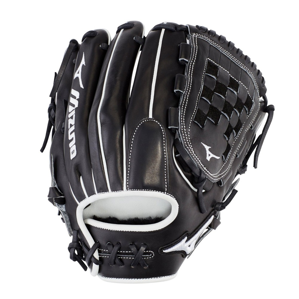 Mizuno Pro Select Fastpitch Softball Glove 12 Size 12 In Color Right Hand Black Rg90 Fastpitch Softball Gloves Fastpitch Softball Softball Gloves