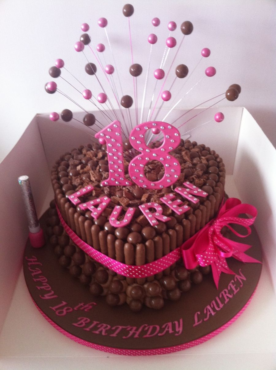 Malteaser Chocolate Cake With Images Chocolate Birthday Cake