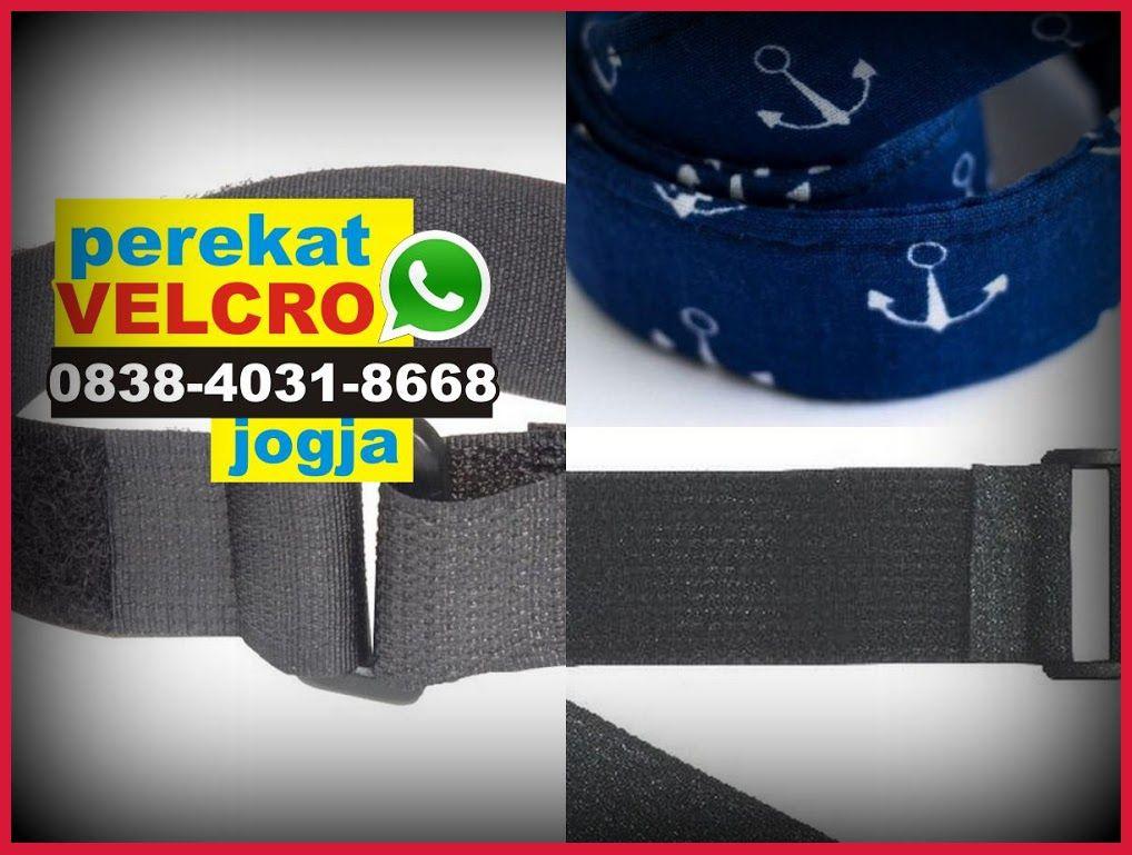Lem Perekat Bahan Kain Velcro Name Tag Jual Velcro Pontianak Bubuk