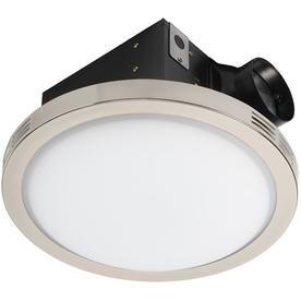 Utilitech 90cfm Decorative 4 In 1 Bath Fan At Lowes Com Bathroom Fan Ventilation Fan Traditional Bathroom
