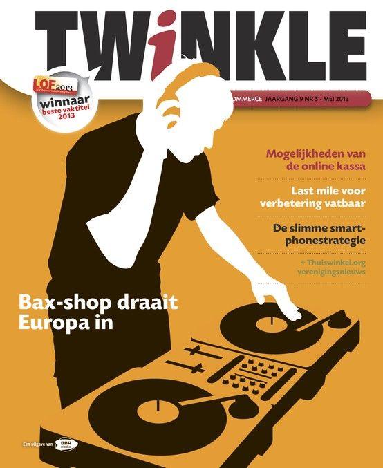 Twinkle is het enige vakblad voor webwinkeliers en presenteert je alles wat je wilt en moet weten als online retailer. Het meinummer is nu op je tablet te downloaden via de BrunaTablisto-app.