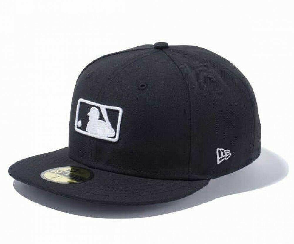 New Era 59fifty Fitted Cap Mlb Logo Black Umpire Cap Design Motif Japan Tracking Cap Designs Fitted Caps New Era 59fifty