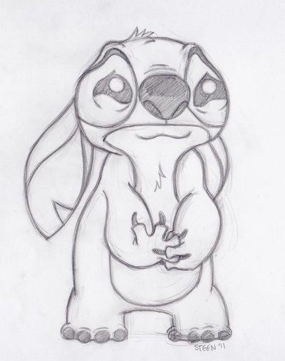 Cute Drawings Of Stitch Images Stitch Dibujos Dibujos A Lápiz