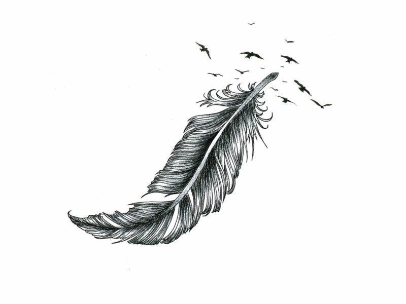 Feder Tattoo Bedeutung Und Vorlagen Tattoos 2
