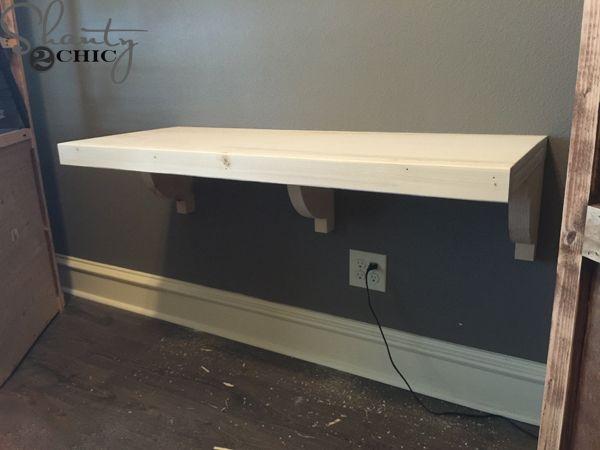 12++ Diy floating desk with storage ideas