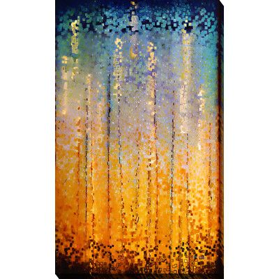 """PicturePerfectInternational """"Everyone Who Calls"""" by Mark Lawrence Painting Print on Wrapped Canvas Size: 48"""" H x 28"""" W x 1.5"""" D"""