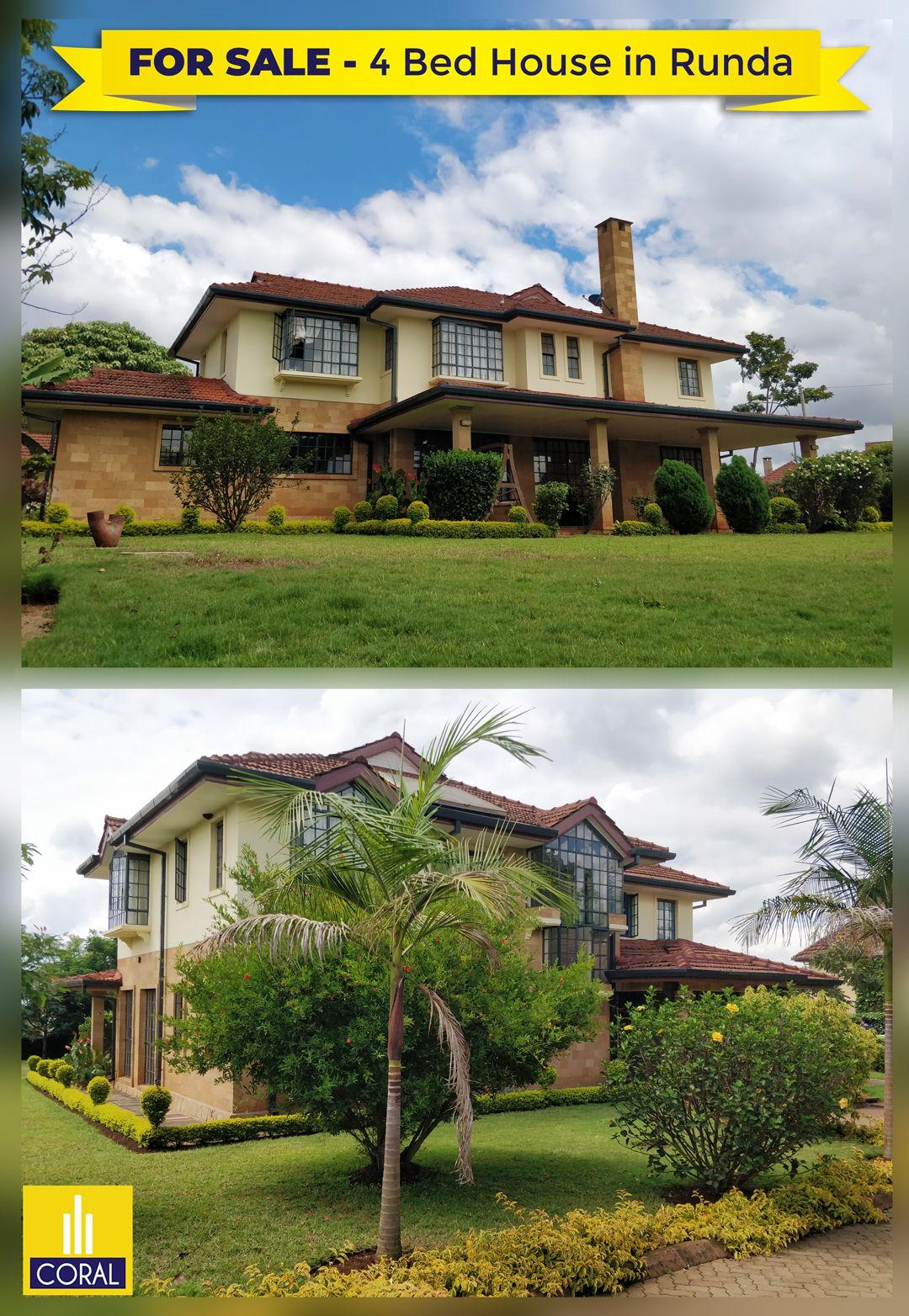 4 Bedroom House For Sale In Runda Mae Ridge 4 Bedroom House