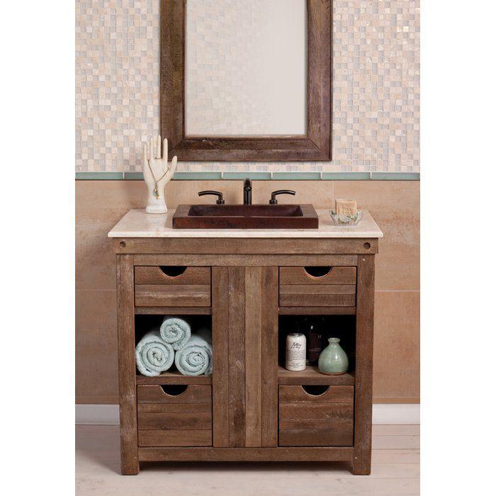 Vintner 36″ Single Bathroom Vanity Base Only