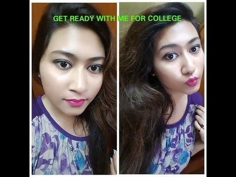 get ready with me day look simple makeup for beginners