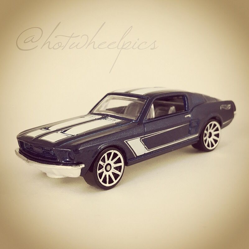 67 Custom Mustang 2016 Hot Wheels Garage Hotwheels Diecast