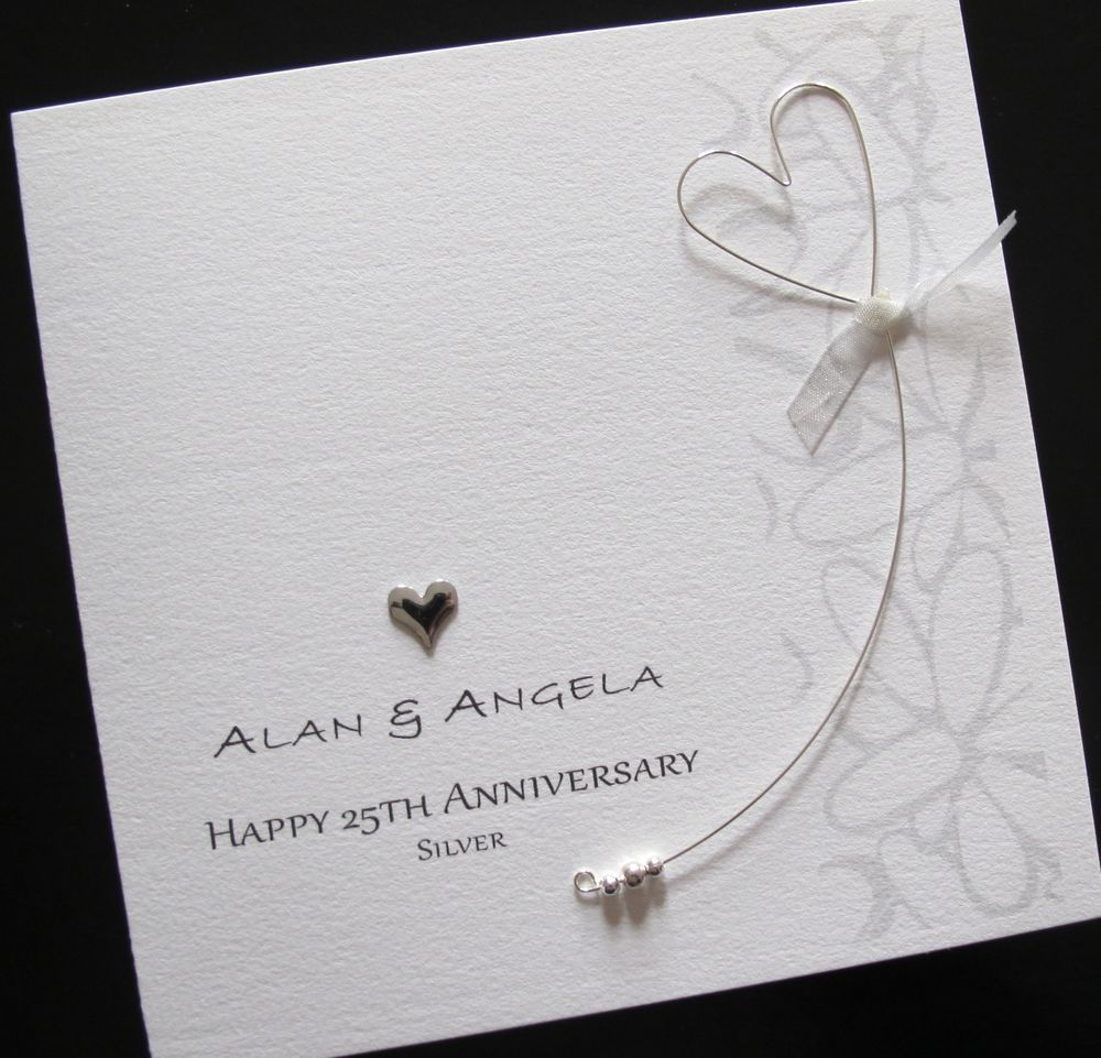Superior Card Making Ideas For 25th Anniversary Part - 2: 25th Wedding Anniversary Cards - Google Search More