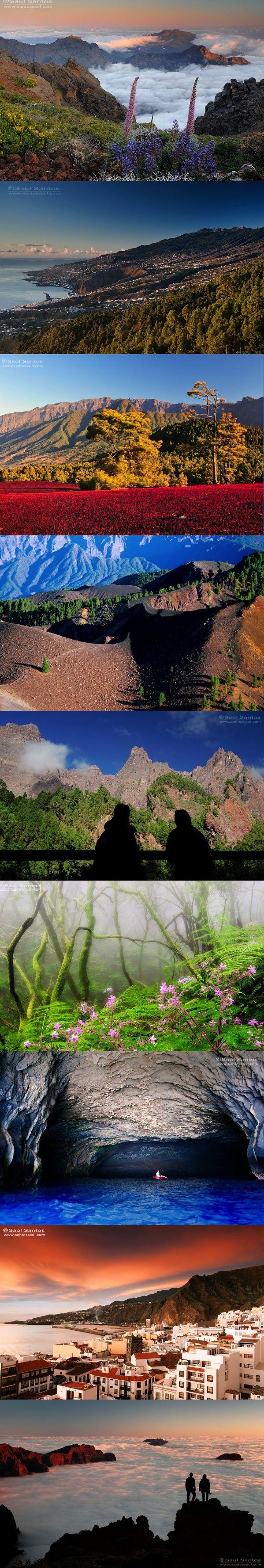 The beautiful island of La Palma, Canary Islands, Spain