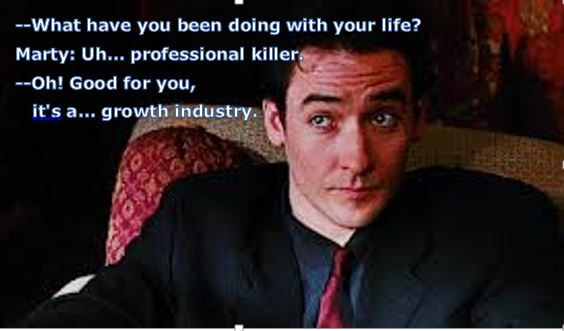 Grosse Pointe Blank  Dark Comedy About A Professional