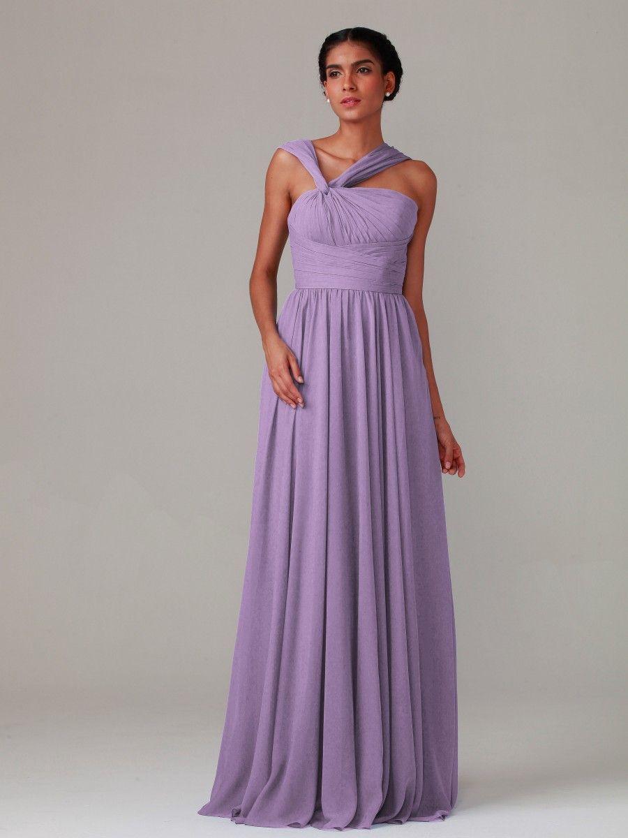 Pleated Bodice Chiffon Dress Plus and Petite sizes