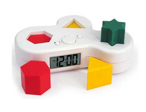 annoying puzzle alarm clock
