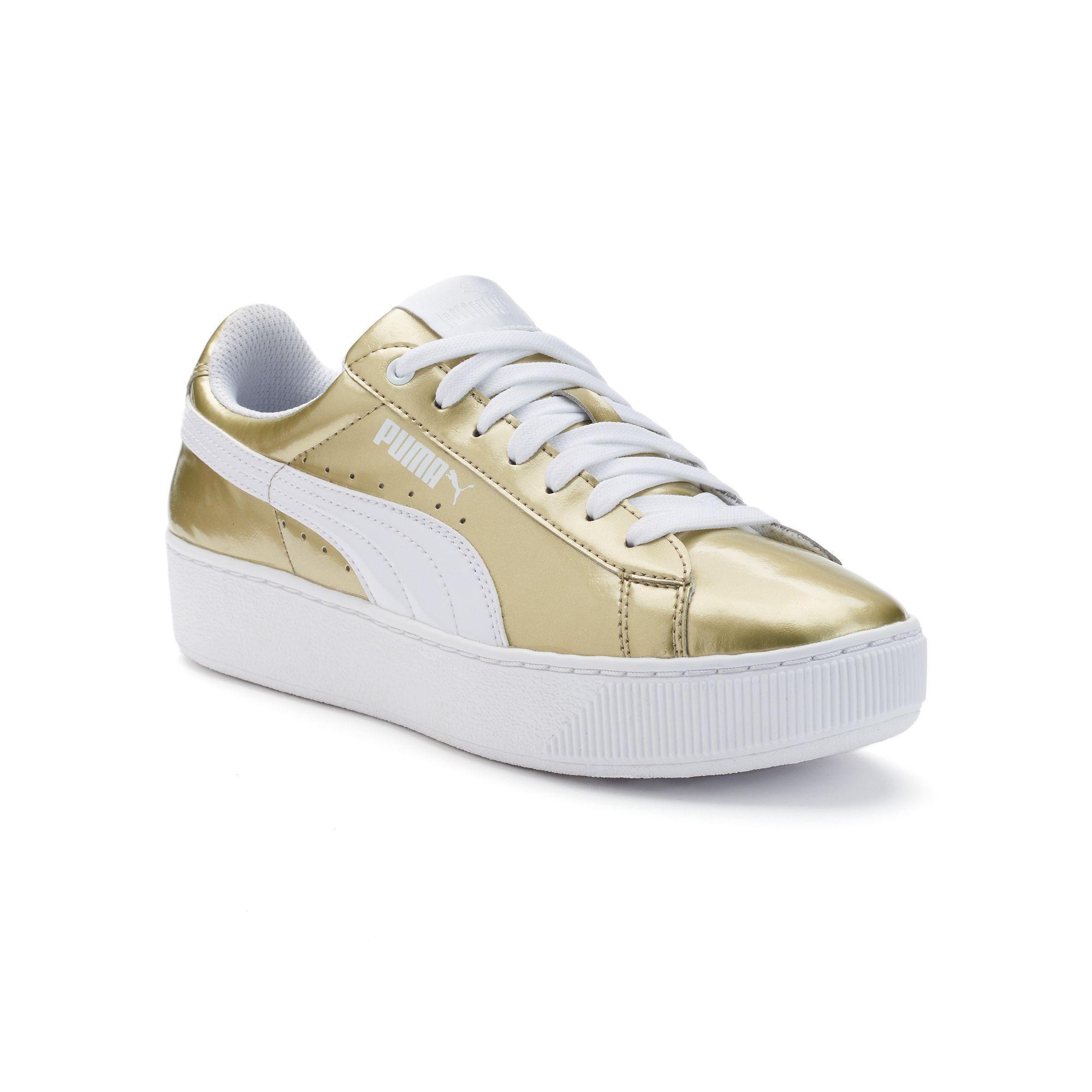 PUMA Vikky Platform Women s Metallic Shoes 8398af046