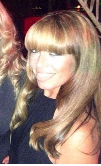 Alicia Trani, who owns NYC salon Hair Queen, giving us gorgeous Bardot hair and face.
