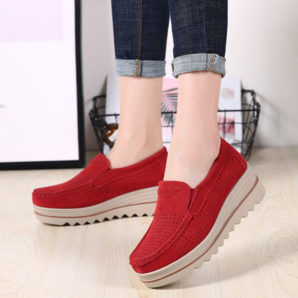 Hot-sale Women Casual Folkways Soft Cow Leather Flowers Flat Shoes - NewChic Mob... 3