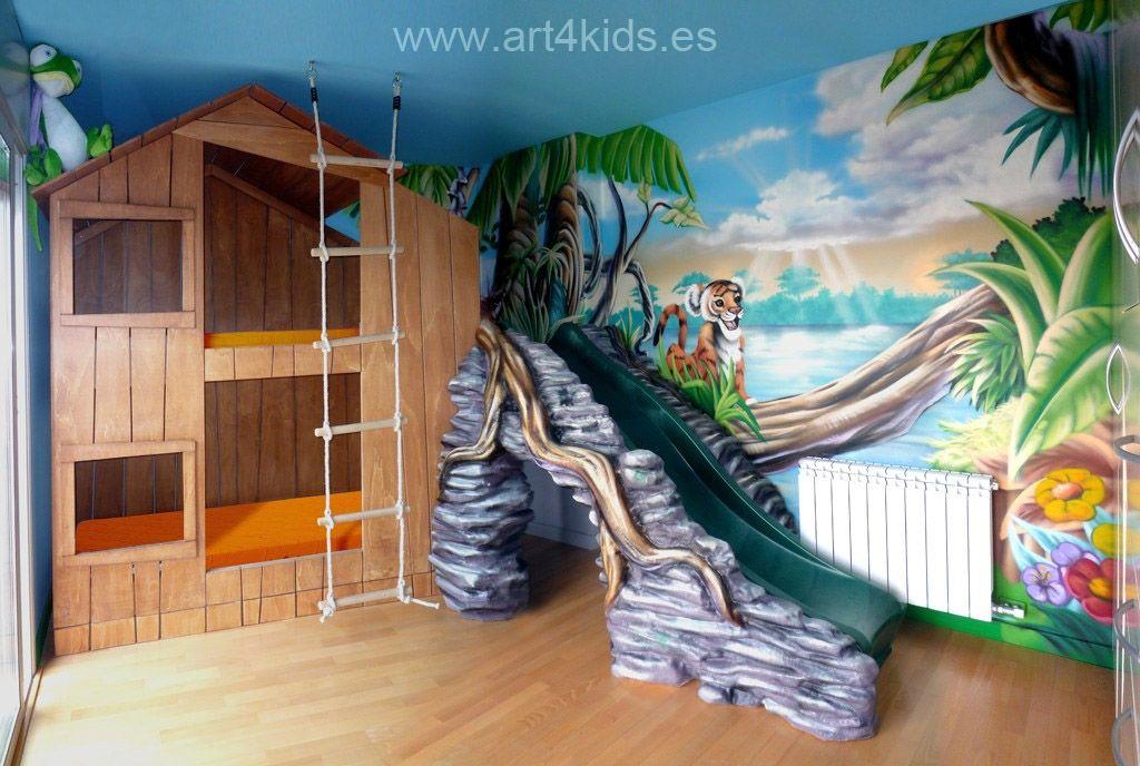 Resinas Siliconas y Moldes: Art4Kids Habitaciones tematicas para ...