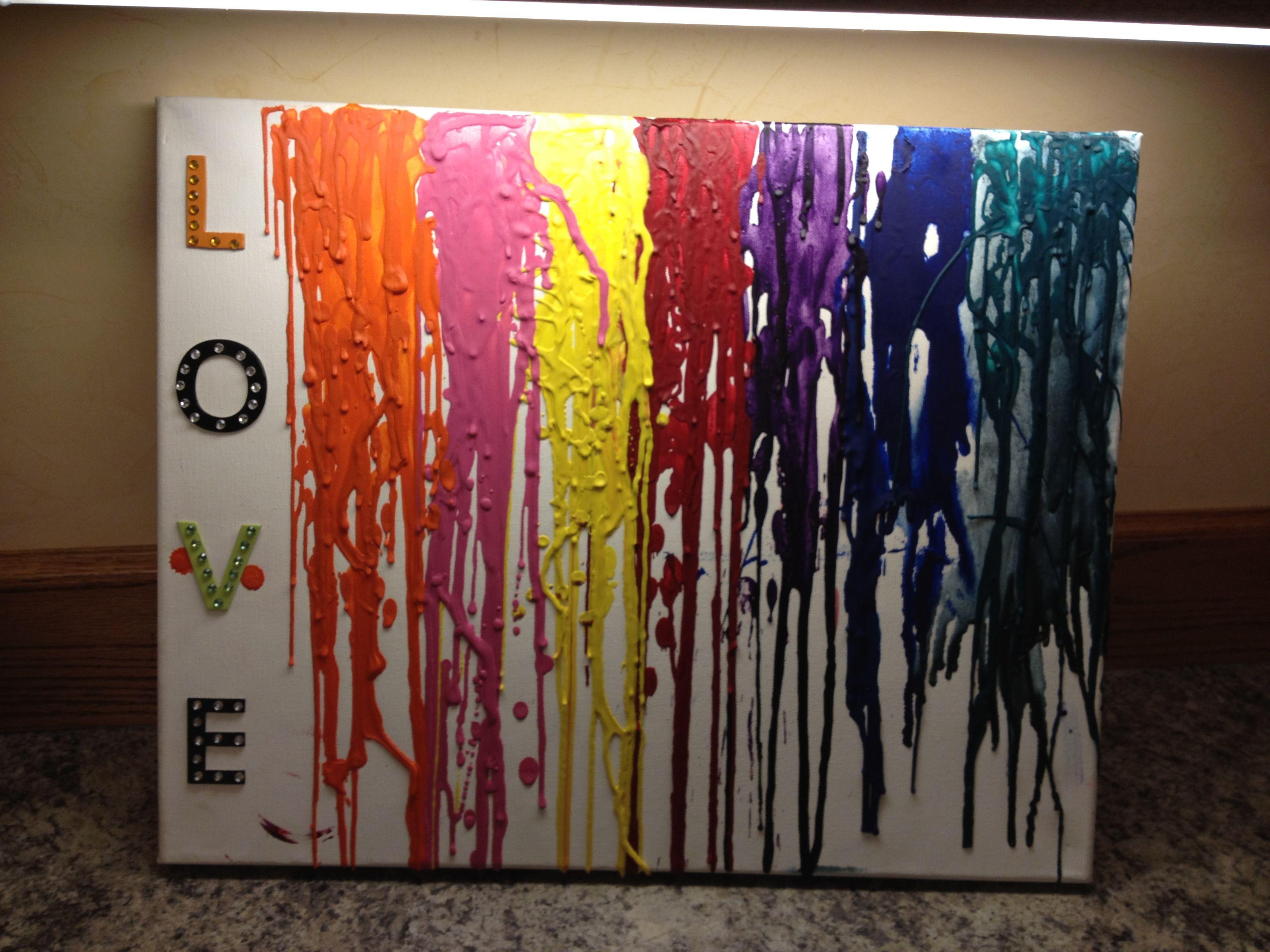 Color Melting Art