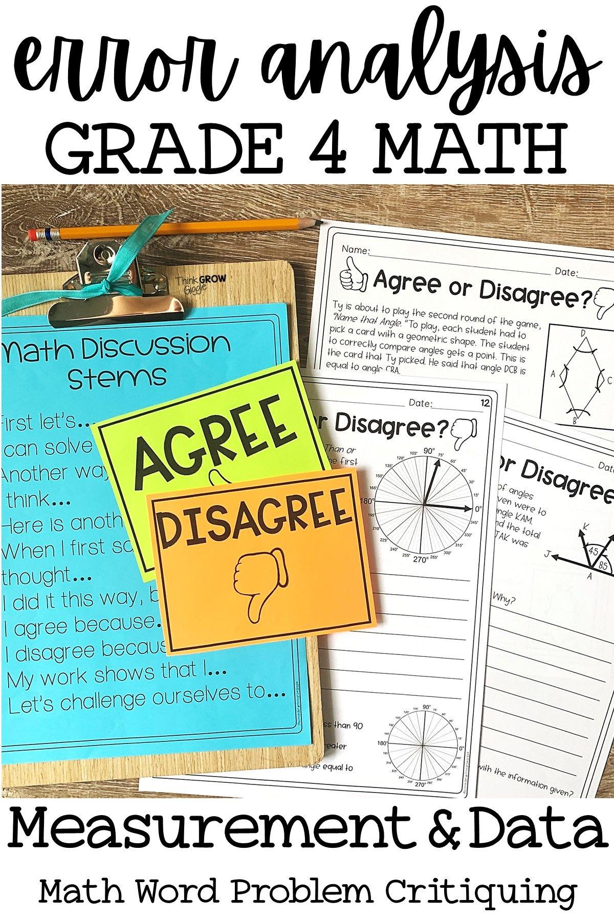 Errorysis Math Grade 4