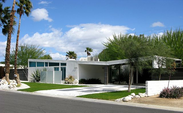 mid century alexander homes | Butterfly roof Alexander home designed ...