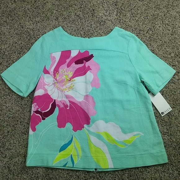 stylus Tops - Stylus floral top NWT