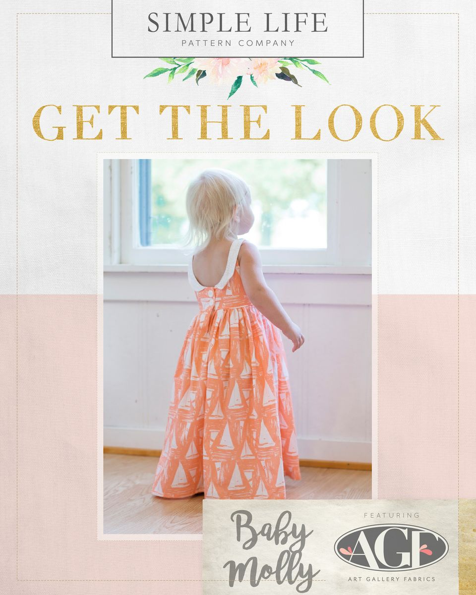 Get the look baby mollyus scoop back top dress or maxi nb