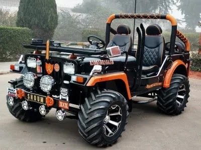 Top 3 Modified Jeep Suv In India Jeep Suv New Jeep Truck