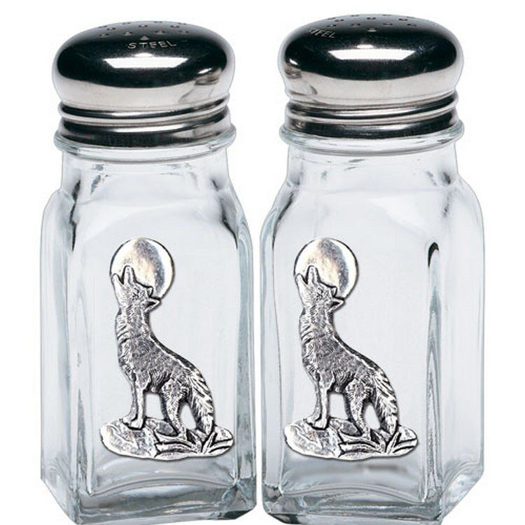 Coyote Pewter Accent Salt Pepper Shakers Salt And Pepper