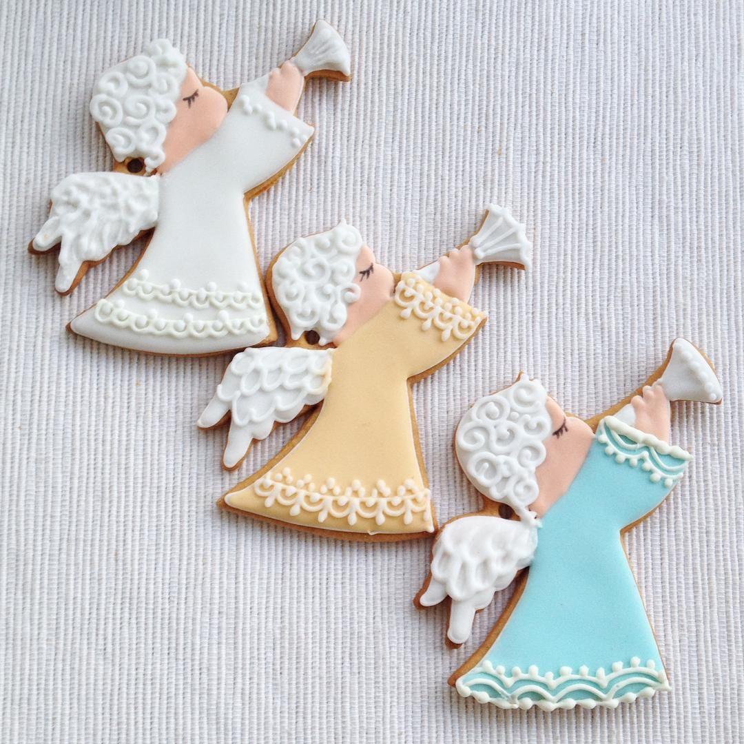 Piccoli biscotti decorati per #alberodinatale