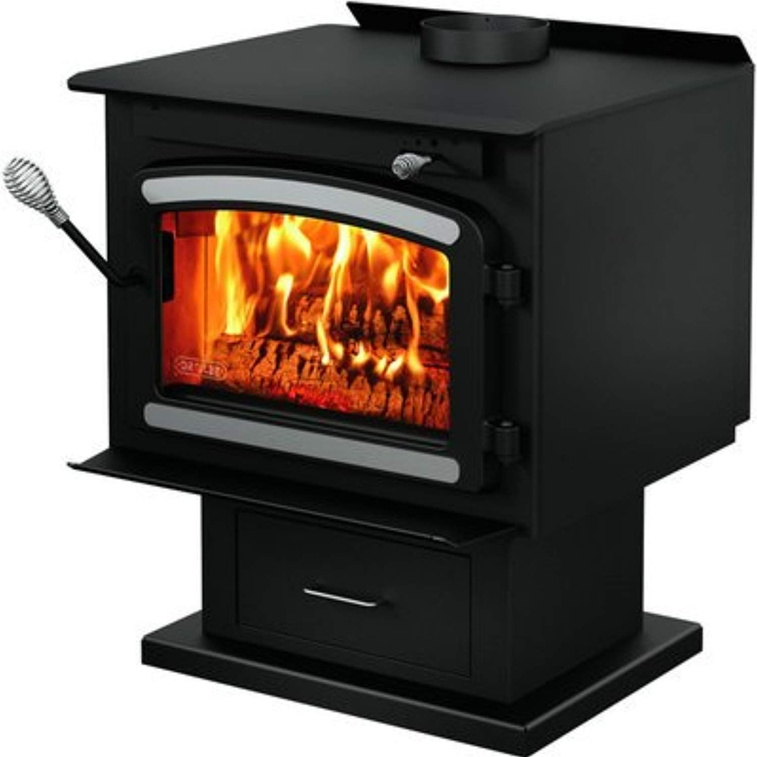 Drolet Classic Wood Stove With Blower 75 000 Btu Epa Certified Model Db03081 Learn More By Visiting The Image Link Wood Stove Wood Wood Stove Blower