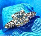 20s Vintage Solitaire Antique Diamond Pl