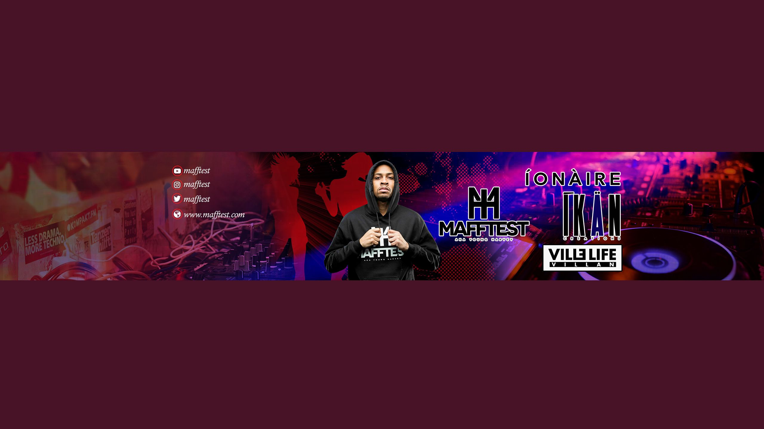 Amazing Youtube banner Design. It create for my personal