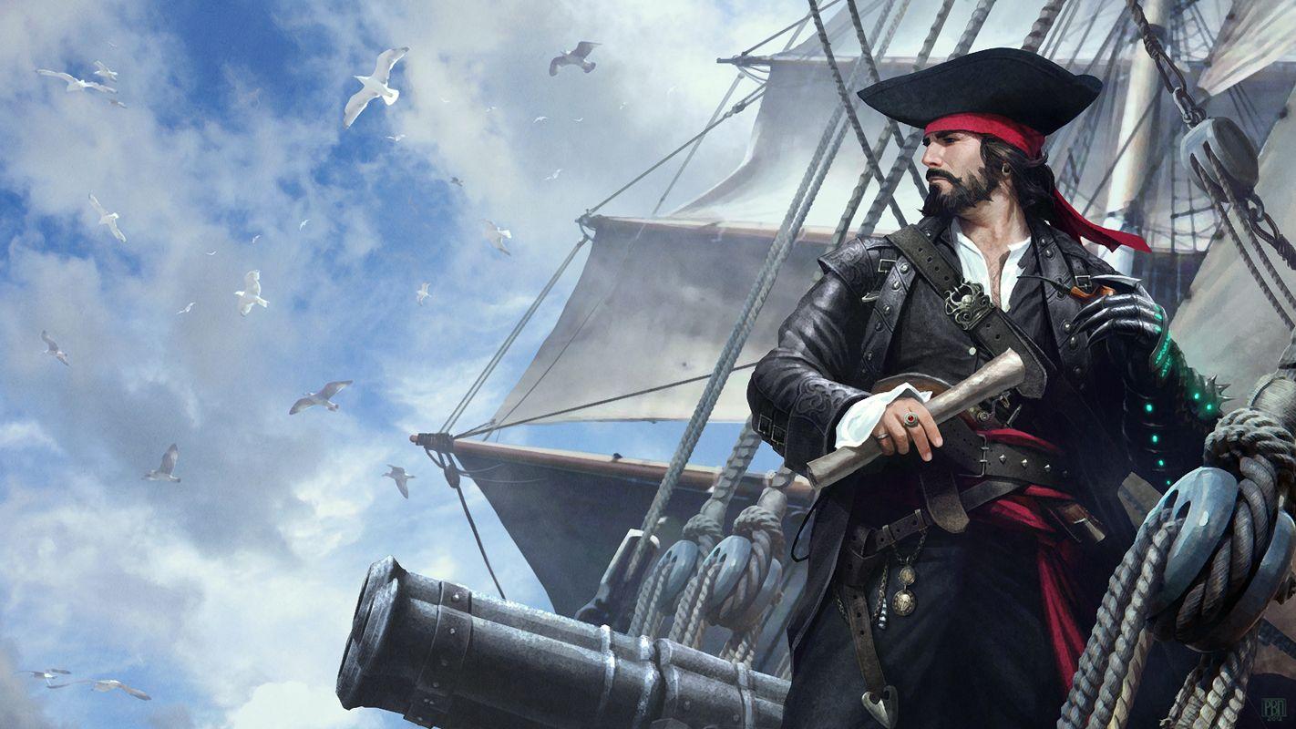 пираты капитан картинки кулинара необычное