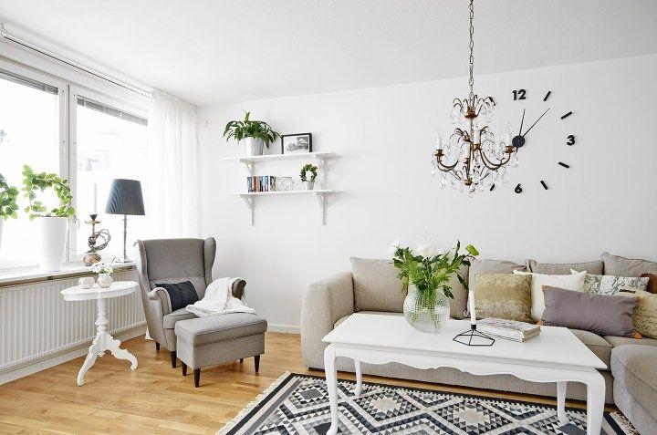 L mparas chandelier en la decoraci n moderna lampara for Lamparas estilo escandinavo