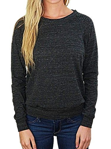 This unique top is feminine and flattering. Made of comfortable and stylish #tri-blend fabric, this light-weight sweater is perfect with jeans or leggings.