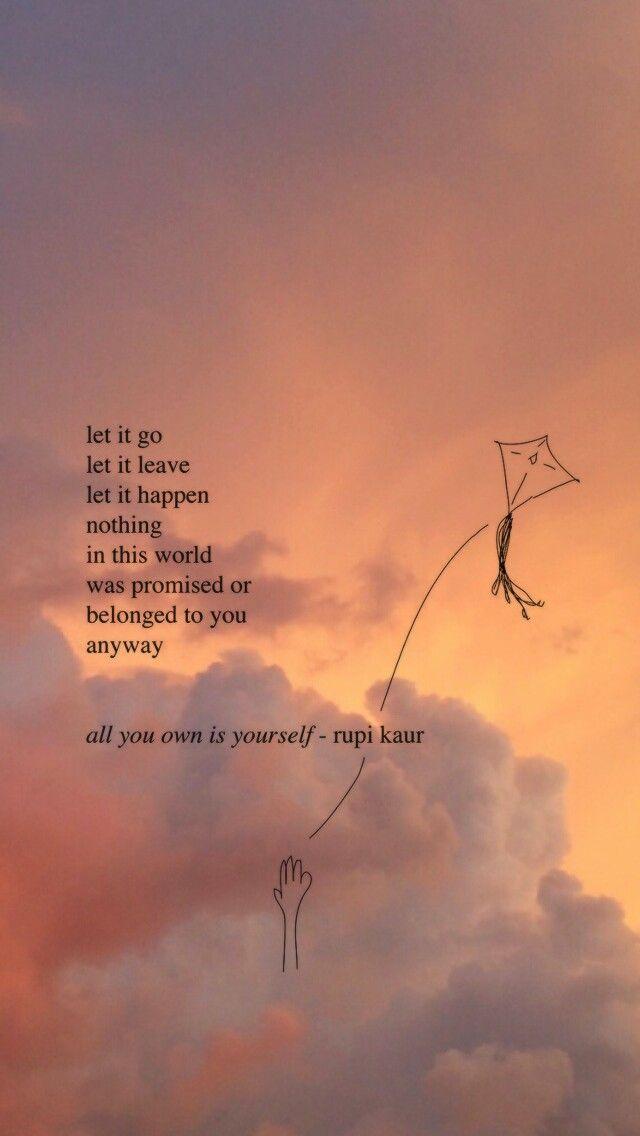 telefon idézetek Rupi Kaur | Quote backgrounds, Quotes lockscreen, Poetry wallpaper