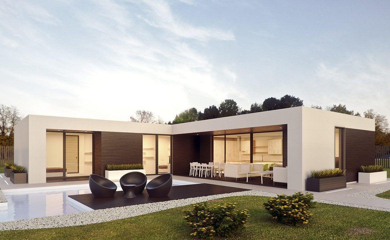 Modulhaus Modell ,,Frank 2 Cube haus, Haus architektur
