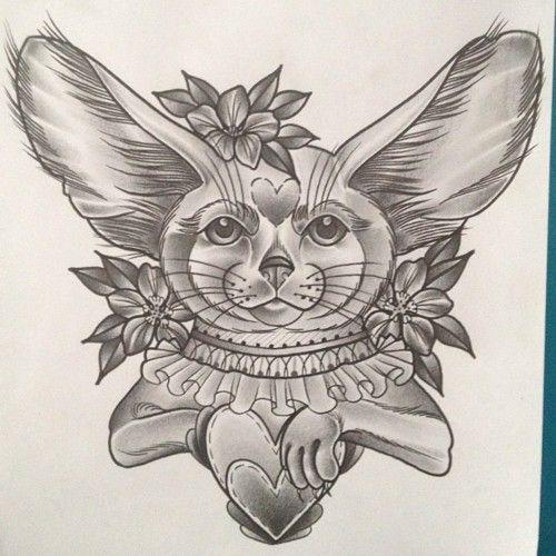 A fennec fox by Amy Victoria Savage